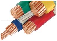 Gute Qualität VPE-isolierte Stromkabel & Leiter-PVC Isolierkabel des Kupfer-1000V besonders angefertigt mit halbem Kern drei disponibles à la vente