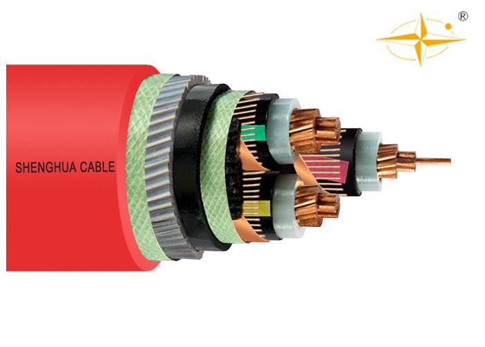Stahldraht-gepanzerte Stromkabel